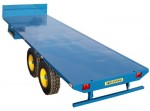 flat bed trailor